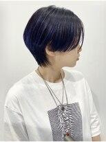 シキナ(sikina)【ナカムラ_design】ショート ストレートミニウルフ