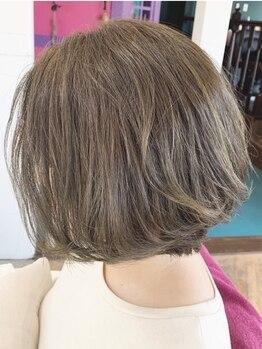 ウェリナ(Welina)の写真/気になり始めの白髪もしっかりカバー◎オーガニックカラーもご用意!あなただけのカラーに仕上げます♪