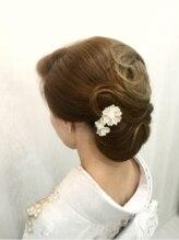 桜GINZA 2和髪アップ