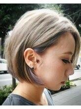 ヘアーデザイン ポポラリタ(Hair Design Popolarita)ショートボブinインナーカラー