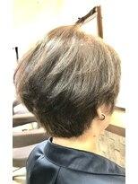 クロムヘアー(CHROME HAIR)ショートスタイル