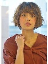 ゼンコー ハチオウジアネックス(ZENKO Hachioji ANNEX)【抜け感ボブ】シフォンボブ×プラチナブラウン