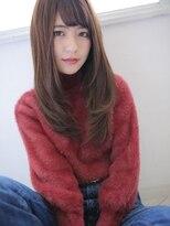 癒され☆暖色ロングヘア
