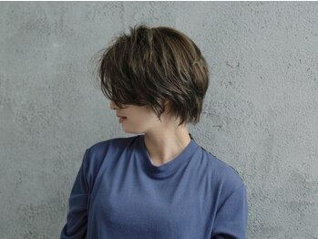 グランスール(grande soeur)の写真/旬顔ショートでイメージチェンジ☆高い技術力×デザイン性であなたの魅力を引き出すショートヘアをご提案☆