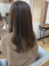 ヘアアンドスパ クローバー(hair&spa CLOVER)プラチナアッシュ