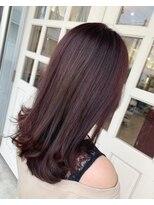 ヘアアンドメイクグラチア(HAIR and MAKE GRATIAE)【8トーン】ガーネットピンク☆