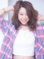 オーブ ヘアー カーム 橋本店(AUBE HAIR calm)ラフカール★カジュアルパーマスタイル