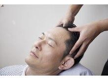 メンズウィル バイ スヴェンソン 大阪スポット(MEN'S WILL by SVENSON)の雰囲気(専門のプロ技で熟練のマッサージを体験。頭皮ケアと共に癒しを)