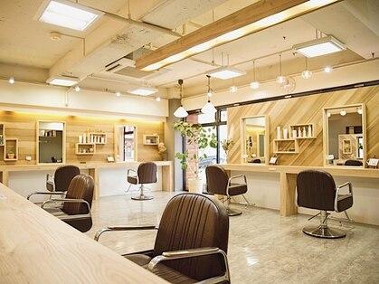 ヘア プロデュース キュオン(hair produce CUEON.)の写真