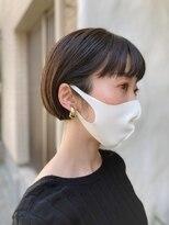 【Lui】中西お客様hair・マスクにも合う大人ショートボブ