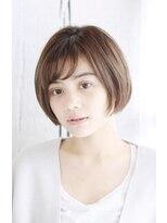 ヘアーサロン セル(Hair Salon CELL)大人かわいいショートヘア 丸型 卵型