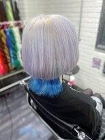 ミミック (mimic)white × turquoise blue くらげちゃんウルフ TRICKstyle!