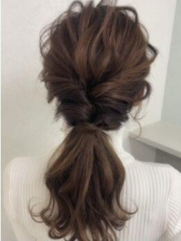 ヘアーセットサロン ピンキー(Hairset Salon Pinky)の写真/【北新地】ヘアセット¥1500~/断然お得!着物レンタルもOK★誰よりも可愛くしてくれるPinkyにお任せ♪
