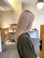 デコ(DECO)《RYUSEI》ホワイトブロンドベージュハイトーンカラー髪質改善