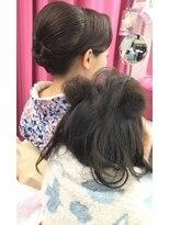 ヘアーアンドメイクサロン ハナココ(hair&make salon hana Coco)☆親子でヘアセット☆
