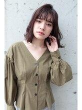 ライズヘアーブランド 宝塚中山店(RISE HAIR BRAND)RISE HAIR BRAND簡単スタイリングのミディアムロブ