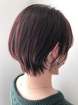 デイジー(Daisy)の写真/<上尾駅東口より徒歩2分>夜8:00まで受付可能◎乾かすだけで決まるオーダメイドのショートヘアを貴方に☆