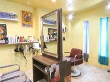 ヘアードレッサーズ アトリエ アンジー(Hair Dresser's Atrie Angie)の雰囲気(プライベート空間でゆったり癒しのひと時を…♪)