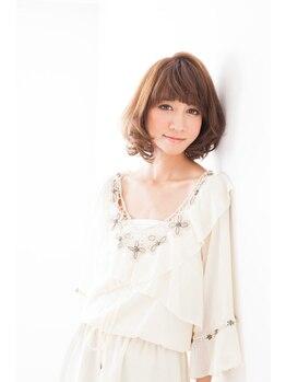 フランク 伊丹店(i's FRUNC)の写真/ダメージが気になる方も安心のヘナカラー☆日本人特有の赤みを抑えツヤ・透明感に溢れた綺麗な発色が人気!