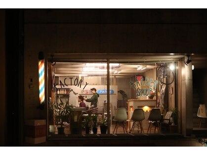 ファクトリーバーバーショップ(FACTORY barber shop)の写真