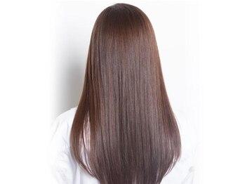 プログレス フレスポ富沢店(PROGRESS)の写真/ダメージレスで髪にも優しいナチュラルな仕上がりが自慢!艶と潤いが髪全体に広がるサラツヤ美髪縮毛矯正!