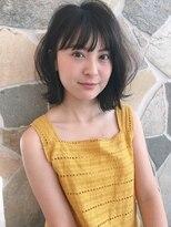 シェル(SHEL)<SHEL NATSUMI>ゆるミディアムヘア