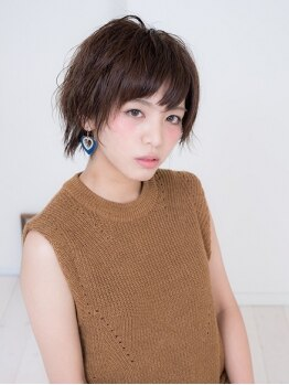 ハティ(hati)の写真/【北24条駅】人気のショートヘアもおまかせ♪女の子らしい柔らかな丸みのあるスタイルへ―。再現性も抜群◎