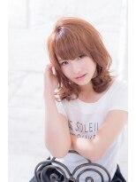 【miel hair blanc】☆ゆるふわリバースカール★
