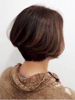 ラファ(Rafa)の写真/【2席のみのプライベートサロン】毛髪・地肌に優しいオーガニックカラーはダメージレスで染める度美髪に♪