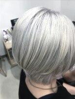 ホワイトヘア!!!