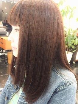 ブッソラヘアー(Bussola hair)の写真/縮毛矯正/パーマ/カット…あらゆる角度からクセ・うねりへアプローチ!!ストレスフリーな美髪へ導きます☆