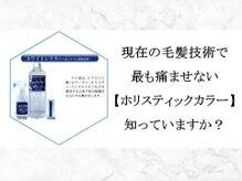 究極の髪質改善【ホリスティック復元ケア・ホリスティックカラー】