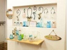 美容室ブン(Bun)の雰囲気(お店の中に可愛いガラス工房があります☆)