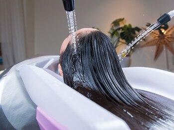 ベル ジュバンス マハロ(MAHALO)の写真/弱酸性美容法「ベル・ジュバンス」でお悩み解決!頭皮の健康は美しい髪を保つ秘訣です♪