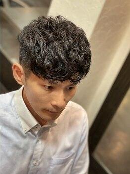 オムヘアーツー (HOMME HAIR 2)の写真/シーンに合わせてセットしやすいニュアンスパーマ♪特に直毛の方にオススメ◎