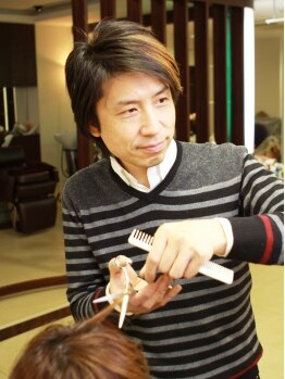 ディーリンク 中央店(hair cure DLINK)の写真/『プロテク』技術で快適に☆季節・肌色・目の色・ライフスタイルなどトータルバランスを考えたカラーを提案