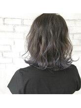 ファセット ヘアー(FACET HAIR)ブルーアッシュグラデーションカラー
