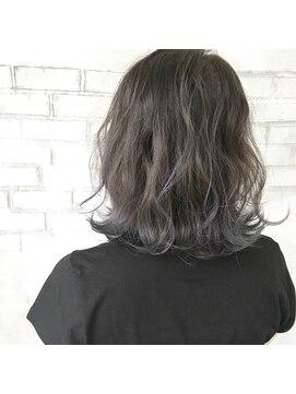 ファセット ヘアー(FACET HAIR) ブルーアッシュグラデーションカラー