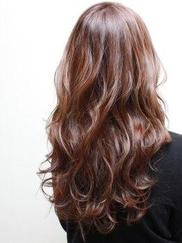 アールヘアー(ar hair)の写真/【立体感・躍動感にてスタイルに差をつけたい貴方へ】カラー&パーマの組合せでワンランク上のこなれ感♪