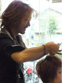 ヘアコンシェル ミューオン(Hair conciel μ+)の写真/毎日のスタイリングを最優先に考えたスタイル!!全ての工程に一切妥協したくない本物志向のメンズ必見★