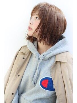 アンアミ オモテサンドウ(Un ami omotesando)【Un ami】《増永剛大》2018、オーダー多数の切りっぱなしボブ♪