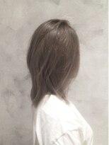 ボヌールヘア(BONHEUR HAIR)ボヌールヘアー 綾瀬【岡部 賢悟】スモーキーアッシュ