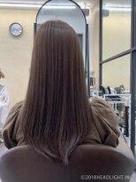 フローレス バイ ヘッドライト 三鷹店(hair flores by HEADLIGHT)ラベンダーブラウン×髪質改善tokio