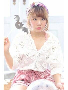 ヘアリゾート バレンタイン(hair+resort valentine)☆ハロウィンヘアアレンジ☆レトロ×ターバンアレンジ