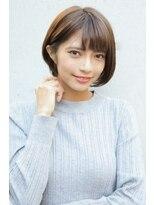 ヘアーメイク リアン 新田辺店(Hair Make REAN)◆REAN 京田辺/新田辺◆耳にかけた上品ショートボブ