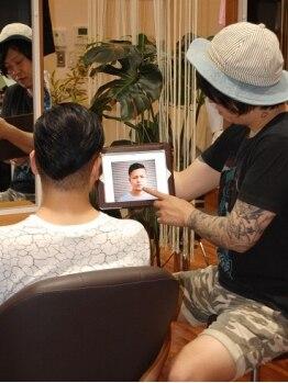 ヘアーズ ボブ 住道店(Hair's BOB)の写真/カウンセリングを重視するから想像以上の仕上がり♪ハイキャリアStylistがワンランク上の美しさをお約束☆