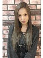 イーリス(IriS)≪高田馬場美容室≫アディクシーカラーで艶ブリーチオンカラー