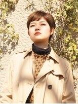 サラビューティーサイト 志免店(SARA Beauty Sight)柔らかなカラーが印象を柔らかくするクラシカルボブ
