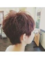 """hair sos マッシュショートstyle(""""⌒∇⌒"""")"""