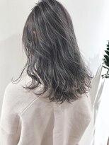 フィーユコパン(feuille copain)春色シルバーグレージュ×3Dカラー★feuille中村大輔